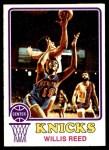 1973 Topps #105  Willis Reed  Front Thumbnail