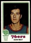 1973 Topps #131  Don May  Front Thumbnail