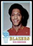 1973 Topps #144  Rick Roberson  Front Thumbnail