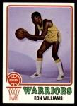1973 Topps #23  Ron Williams  Front Thumbnail