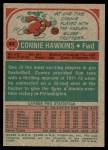 1973 Topps #43  Connie Hawkins  Back Thumbnail