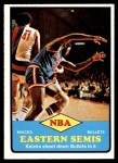 1973 Topps #62   NBA Eastern Semi-Finals Front Thumbnail
