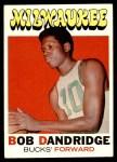 1971 Topps #59  Bob Dandridge  Front Thumbnail
