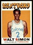 1971 Topps #214  Walt Simon  Front Thumbnail