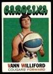 1971 Topps #229  Vann Williford  Front Thumbnail