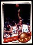 1979 Topps #14  Bernard King  Front Thumbnail