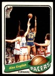 1979 Topps #31  Alex English  Front Thumbnail