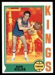 1974 Topps #63  Don Kojis  Front Thumbnail