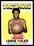 1971 Topps #44  Eddie Miles   Front Thumbnail