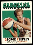 1971 Topps #179  George Peeples  Front Thumbnail