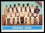 1975 Topps #217   Phoenix Suns Front Thumbnail