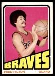 1972 Topps #23  Fred Hilton   Front Thumbnail