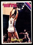 1975 Topps #262  Billy Paultz  Front Thumbnail