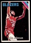 1975 Topps #147  John Johnson  Front Thumbnail