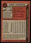 1979 Topps #104  John Johnson  Back Thumbnail
