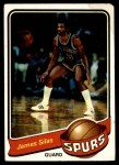1979 Topps #74  James Silas  Front Thumbnail