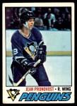 1977 Topps #261  Jean Pronovost  Front Thumbnail