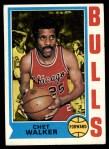 1974 Topps #171  Chet Walker  Front Thumbnail