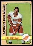 1972 Topps #95  Red Berenson  Front Thumbnail