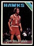 1975 Topps #7  Tom Van Arsdale  Front Thumbnail