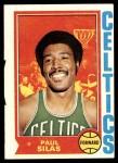 1974 Topps #9  Paul Silas  Front Thumbnail