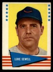 1961 Fleer #138  Luke Sewell  Front Thumbnail