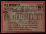 1983 Topps #99  Ted Brown  Back Thumbnail