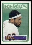 1983 Topps #40  Rickey Watts  Front Thumbnail