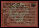 1983 Topps #227  Eugene Marve  Back Thumbnail