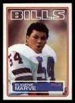 1983 Topps #227  Eugene Marve  Front Thumbnail