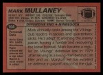 1983 Topps #104  Mark Mullaney  Back Thumbnail