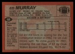 1983 Topps #68  Ed Murray  Back Thumbnail