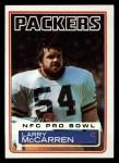 1983 Topps #84  Larry McCarren  Front Thumbnail