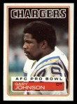 1983 Topps #376  Gary Johnson  Front Thumbnail