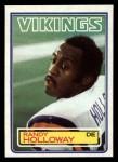 1983 Topps #101  Randy Holloway  Front Thumbnail