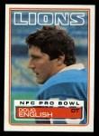 1983 Topps #63  Doug English  Front Thumbnail