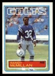 1983 Topps #214  Randy McMillan  Front Thumbnail