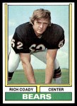 1974 Topps #18 ONE Rich Coady  Front Thumbnail