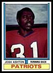 1974 Topps #26  Josh Ashton  Front Thumbnail