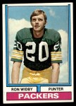 1974 Topps #56  Ron Widby  Front Thumbnail