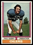 1974 Topps #22  Paul Guidry  Front Thumbnail