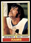 1974 Topps #25  Jack Reynolds  Front Thumbnail