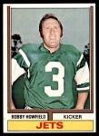 1974 Topps #41  Bobby Howfield  Front Thumbnail