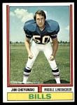 1974 Topps #53  Jim Cheyunski  Front Thumbnail