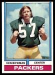 1974 Topps #4 ONE Ken Bowman  Front Thumbnail