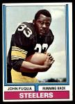 1974 Topps #13  John Fuqua  Front Thumbnail