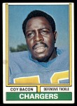 1974 Topps #20  Coy Bacon  Front Thumbnail