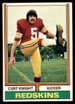 1974 Topps #33  Curt Knight  Front Thumbnail