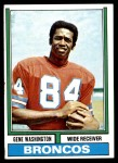 1974 Topps #63 ONE Gene Washington   Front Thumbnail