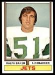 1974 Topps #68  Ralph Baker  Front Thumbnail